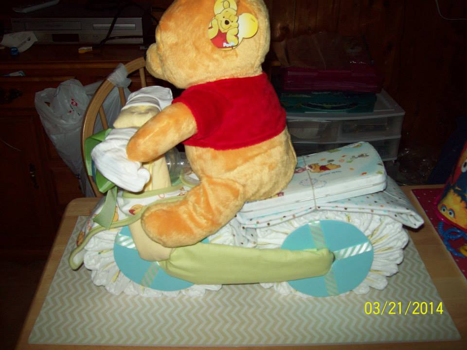 Winnie The Pooh Baby Shower Cakes